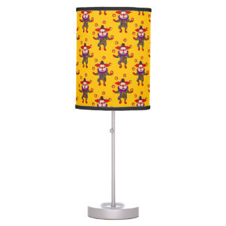 Clown Dog Frenchie entertains you with his love Table Lamp
