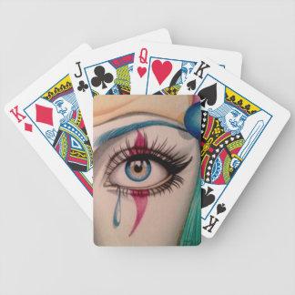 Clown Eye Bicycle Playing Cards