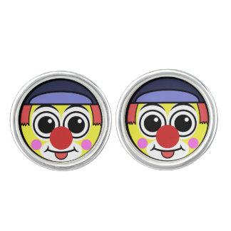 Clown Face Cuff Links