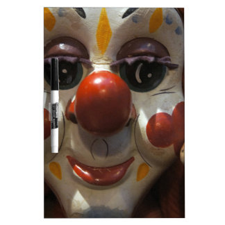 Clown Face Dry Erase Board