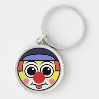 Clown Face Keychain