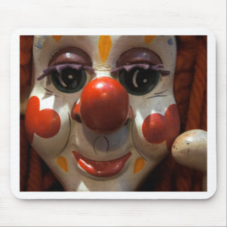 Clown Face Mouse Pad