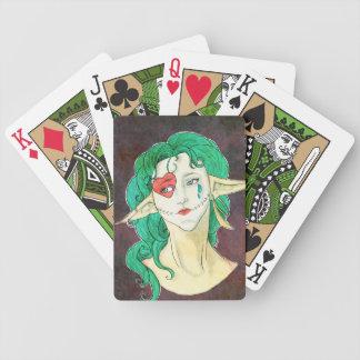 Clown Face Poker Deck
