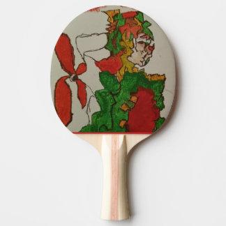 Clown Fan Ping Pong Paddle