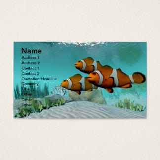 Clown Fish Business Card