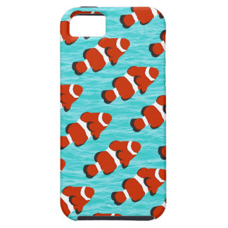 Clown fish pattern iPhone 5 cases