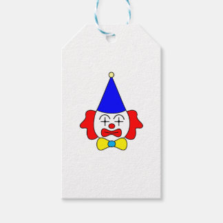 Clown - funny face. gift tags