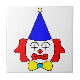 Clown - funny face. tile