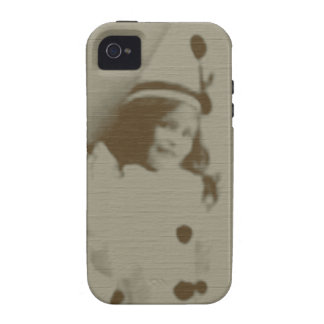 Clown Girl Vibe iPhone 4 Cases