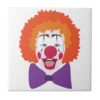 Clown Head Ceramic Tile