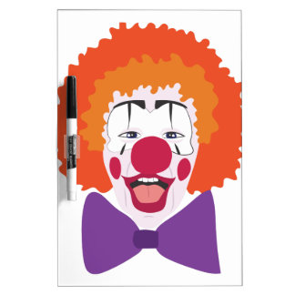 Clown Head Dry-Erase Boards