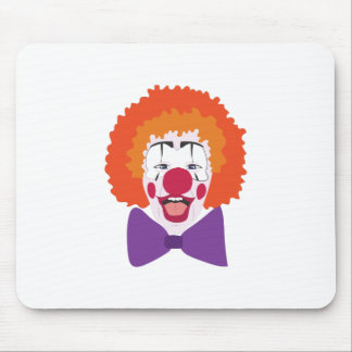 Clown Head Mouse Pad