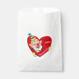 Clown Heart | Vintage Valentine | Favour Bags