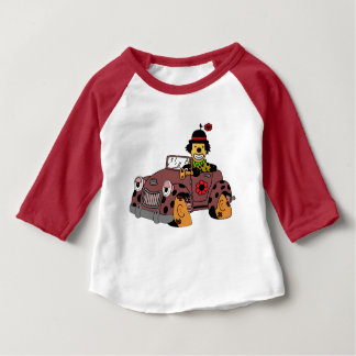 Clown in Car Baby T-Shirt