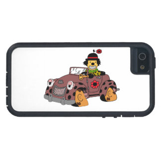 Clown in Car Case For The iPhone 5