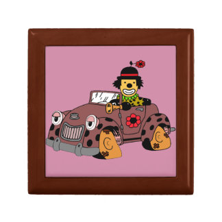 Clown in Car Gift Box