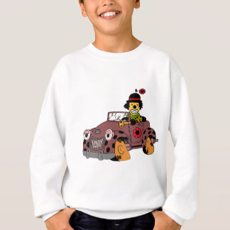 Clown in Car Sweatshirt