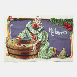 Clown Jester Bobbing For Apples Towel