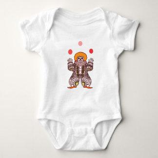 Clown Juggling Baby Bodysuit