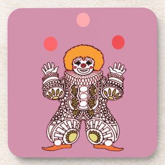Clown Juggling Coaster