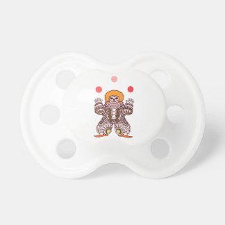 Clown Juggling Pacifier