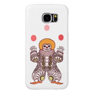 Clown Juggling Samsung Galaxy S6 Cases