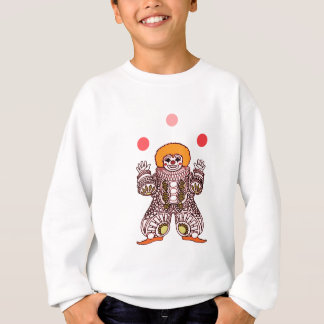 Clown Juggling Sweatshirt