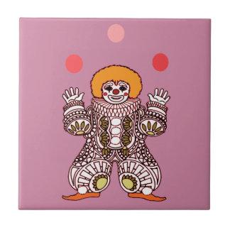Clown Juggling Tile
