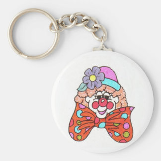 clown keychain