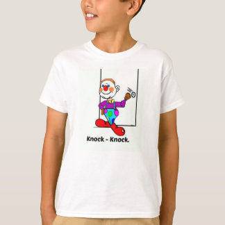 Clown Knock-Knock Joke Tshirt