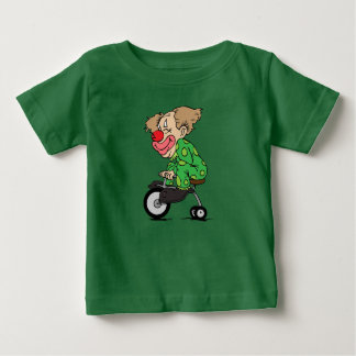 Clown on Tricycle Baby T-Shirt
