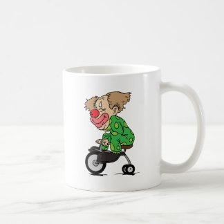 Clown on Tricycle Coffee Mug