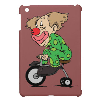 Clown on Tricycle iPad Mini Covers