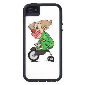 Clown on Tricycle iPhone 5 Cases