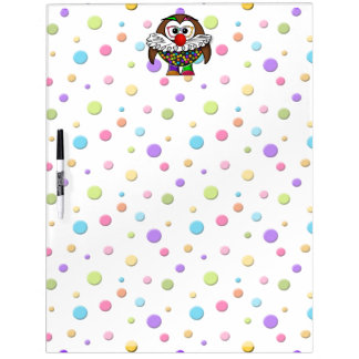 clown owl Dry-Erase board