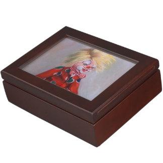 Clown/Pallaso/Clown Keepsake Box