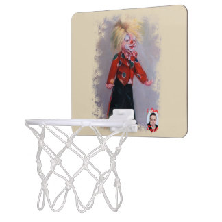 Clown/Pallaso/Clown Mini Basketball Backboard
