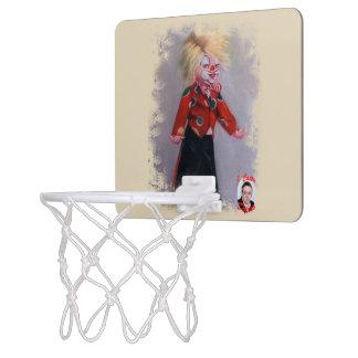 Clown/Pallaso/Clown Mini Basketball Hoop