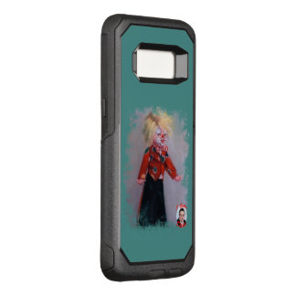 Clown/Pallaso/Clown OtterBox Commuter Samsung Galaxy S8 Case
