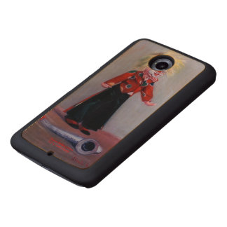 Clown/Pallaso/Clown Wood Phone Case