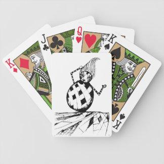 clown poker deck