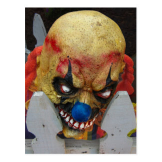 Clown Psycho Postcard
