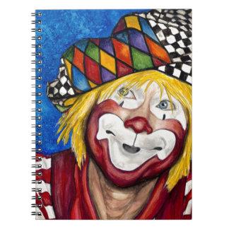 Clown Ron Maslanka AKA Sam The Clow Notebook
