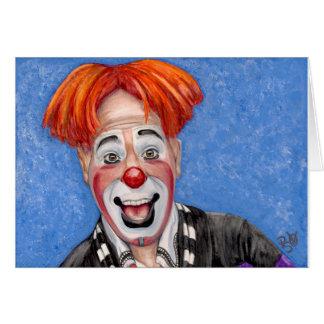 Clown Ryan Combs Card