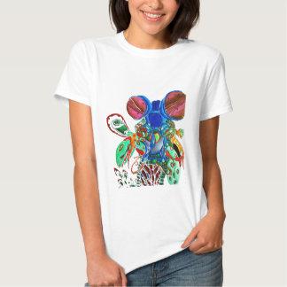 Clown shrimp tee shirt