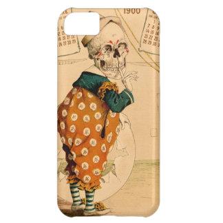 Clown Skeleton Vintage Illustration Case For iPhone 5C