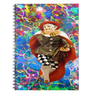Clown Troubadour Notebook