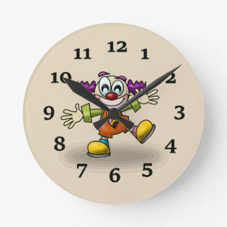 Clown Wallclocks