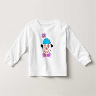 Clown wearing a Blue Hat Toddler T-shirt