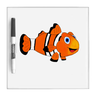Clownfish Dry Erase Whiteboard